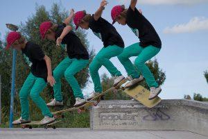 mouvement de skate