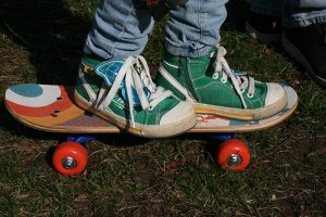 notions de base en skate